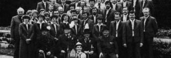 Jubiläumsbild von 1981